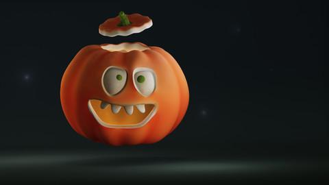 Pumpkin character + basemesh