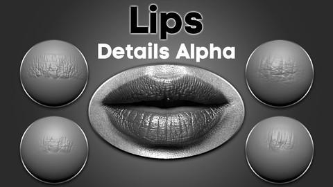 Lips Details Alpha