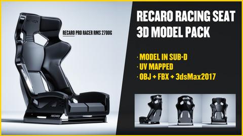 RECARO - PRO RACER RMS 2700G - 3D Model Pack