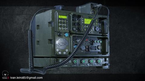 Prop Military Radio AAA Game Ready