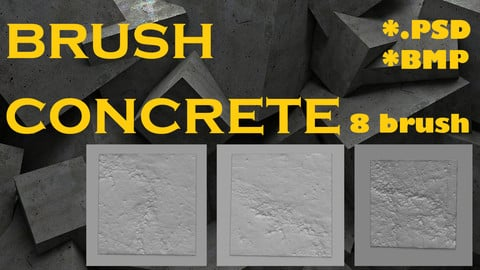 Brush alpha immutation concrete