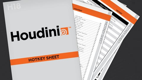Houdini 18 Hotkey Sheet