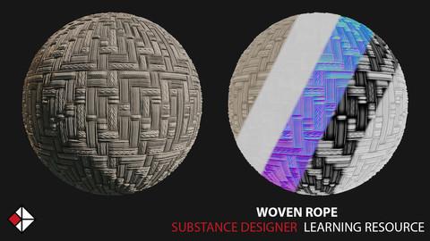 Woven Rope - Substance Designer