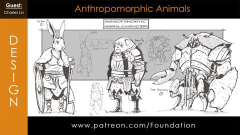 Foundation Art Group: Anthropomorphic Animals with Charles Lin