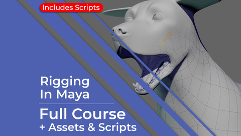 Rigging In Maya: Quadruped - Full Course + Scripts