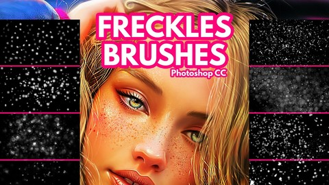 Freckles Brushes for Photoshop