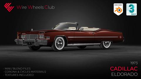 1973 Cadillac Eldorado - 3D Model