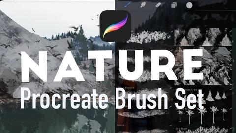 41 Nature Procreate brushes
