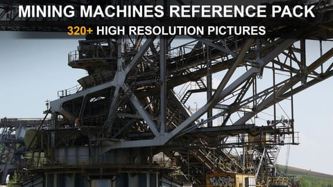 Heavy Mining Machines - Reference Pack