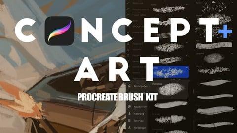 Concept Art Procreate Brush set