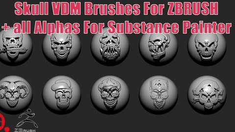 Skull_VDM_Brushes