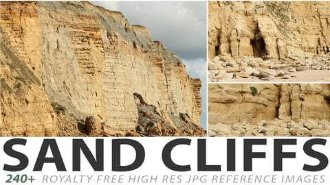Sand Cliffs - reference images