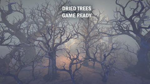 Dried trees