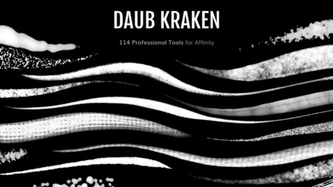 DAUB | Kraken - 114 tools for Affinity Photo and Designer