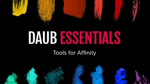 DAUB | Essentials - 114 Tools and 40 Textures for Affinity