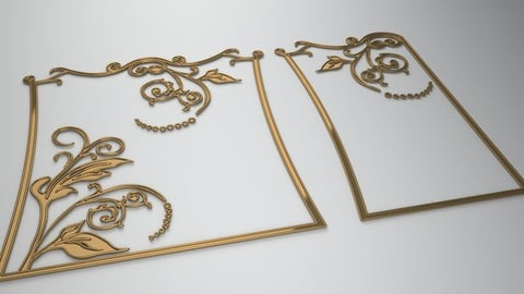 3D Ornamental design 3