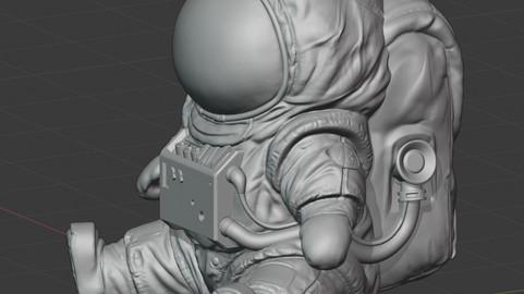 The baby Among Us astronaut