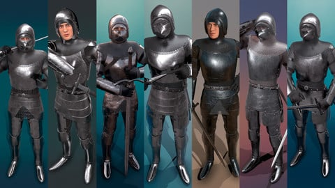 TAB Medieval Knight - 1 Rm