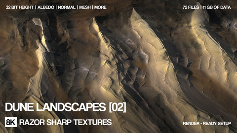 8K Dune landscape pack ( 8 )