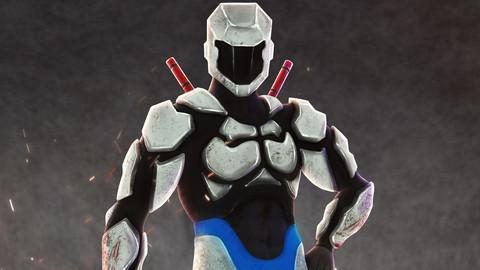 Titan X Character Concept Psd
