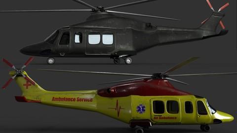 AgustaWestland AW139 (Two skins)