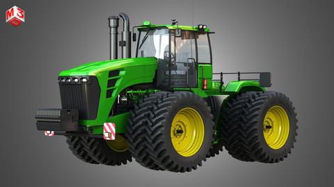 9230 Articulated Tractor 3D model