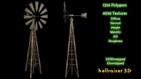Windmill - PBR - Textured