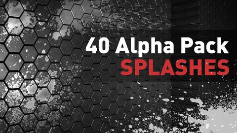 🟥 40 Alpha Pack - Splashes