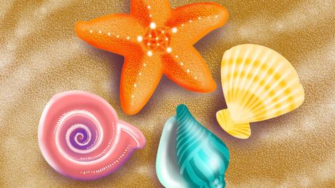 sea shells icon