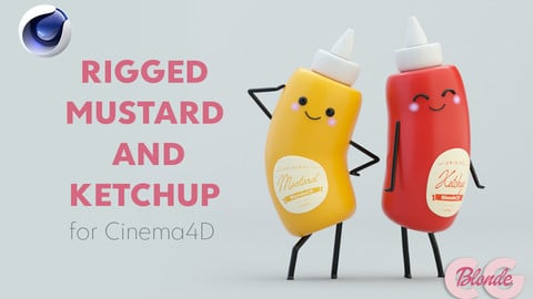 Mustard and Ketchup Rigs for Cinema4D