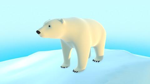 Polar Bear - Stylized