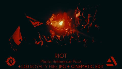 Photo Reference Pack: Riot