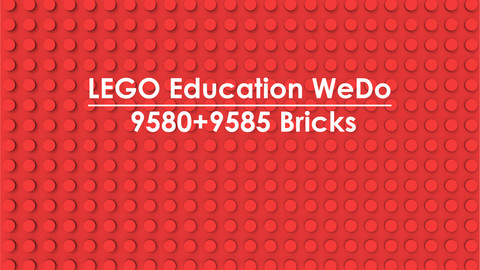 LEGO Education WeDo 9580+9585 Bricks
