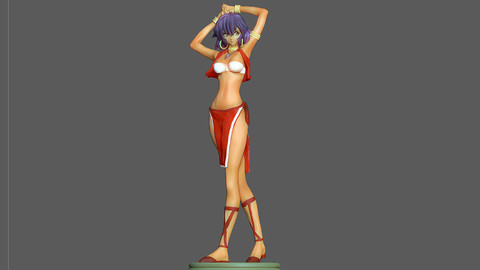 NADIA SECRET OF BLUE WATER CHARACTER MODEL FOR 3D PRINT