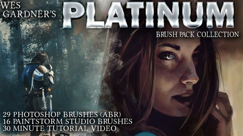 Wes Gardner's Platinum Brush Pack