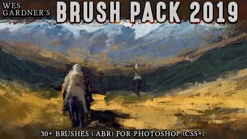 Wes Gardner's Brush Pack 2019