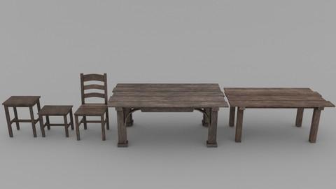 Medieval Dining Set