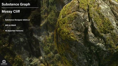 Mossy Cliff | Substance Graph