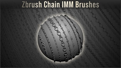 Zbrush - IMM Chain Brushes