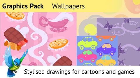 Graphics Pack—Drawn Wallpapers