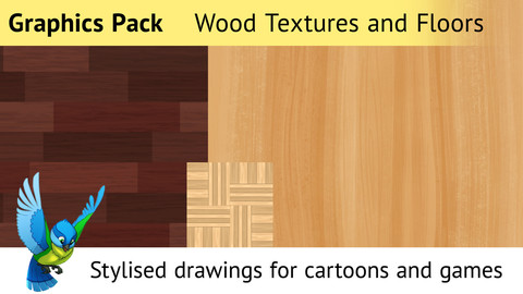 Graphics Pack—Drawn Textures for Cartoon and Games