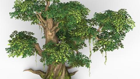 Game Ready Fantasy Tree 09