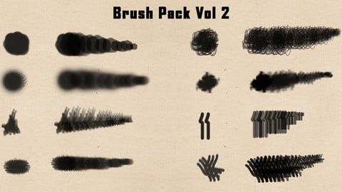 Photoshop Brush Pack Vol 2