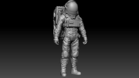 Sci-fi spacesuit