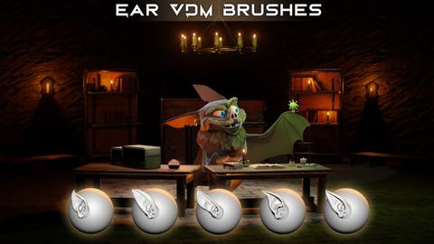Ear VDM Brushes