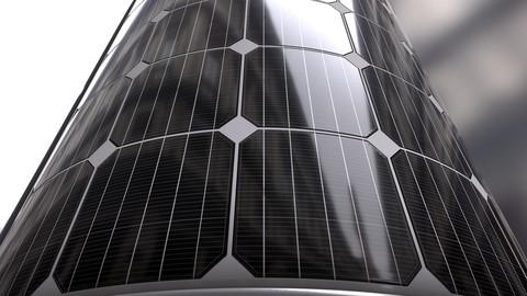 Solar Panel Material & Texture Design