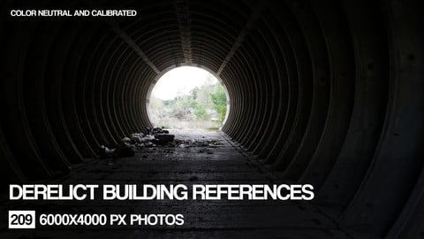 Derelict buildings reference pack