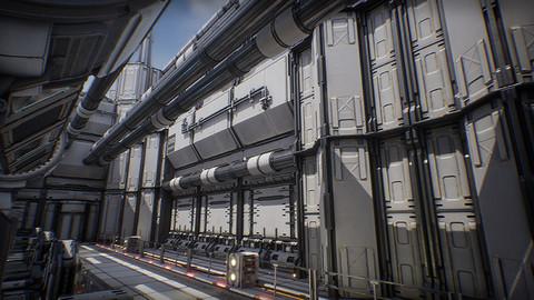 Kitbash City Panorama - Unreal Engine 4