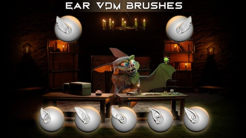 Ear VDM Brushes