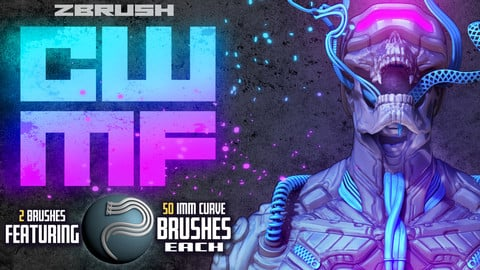 Cyber Wire & Muscle Fiber: Zbrush Curve Brushes